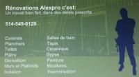 Les Rénovations AlexPro