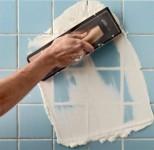 Pose de ceramique / Ceramic tile installation