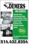 service de crépi, resurfacage et réparation de fissures